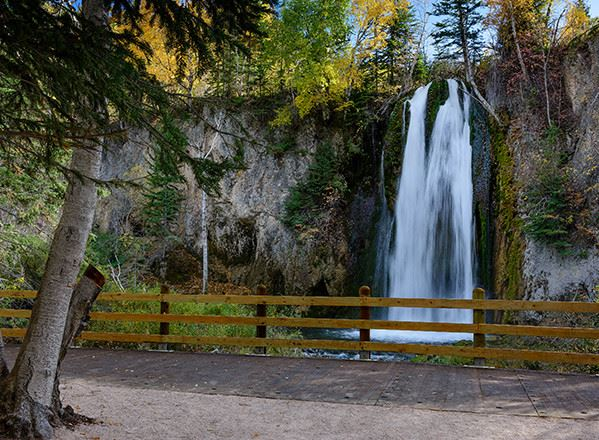 Little Spearfish Falls